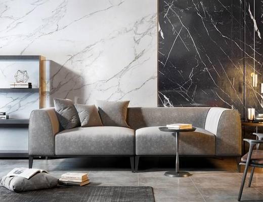 现代沙发, 双人沙发