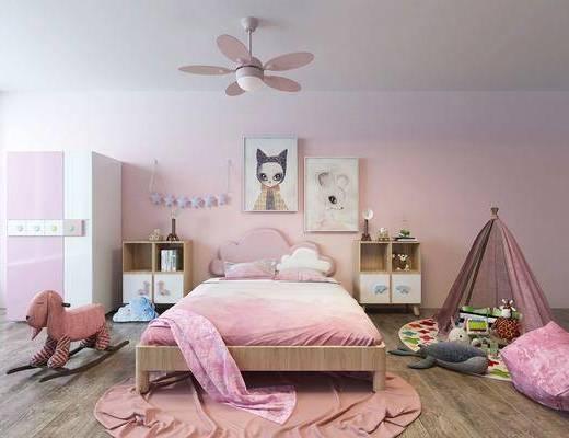 儿童房, 儿童床, 儿童家具
