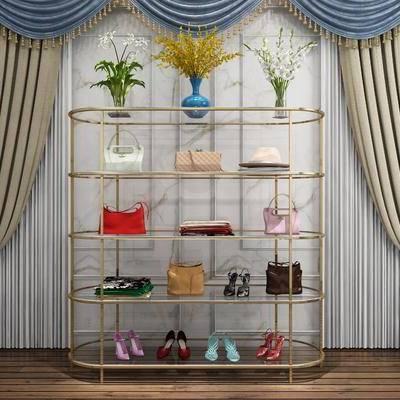 陈设品, 摆件, 花瓶, 现代, 后现代, 装饰架, 置物架