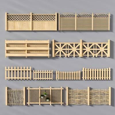 护栏, 田园, 栏杆, 木质栏杆, 围栏