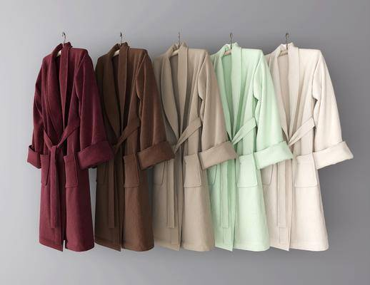 浴袍, 服饰, 现代