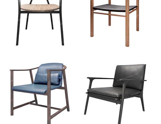椅子, 休闲椅, 单人椅, 单椅, 现代椅子, 北欧椅子