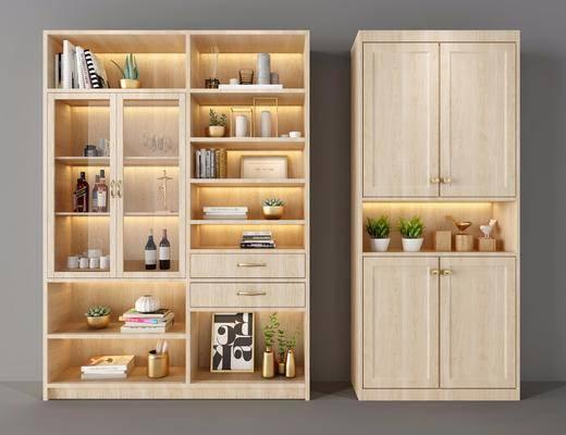 置物柜, 鞋柜, 中式