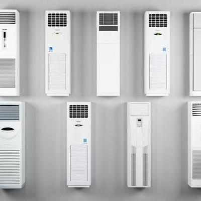 现代, 柜式, 落地式, 空调