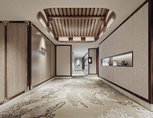 中式过道, 中式走廊