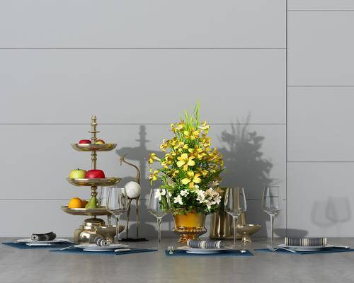 摆件, 陈设品, 餐具, 花瓶