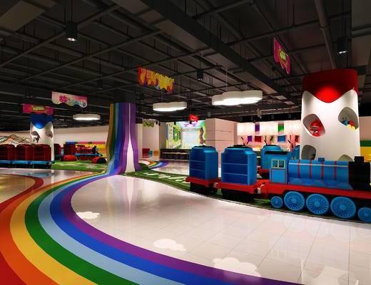 游乐场, 游乐园, 玩具
