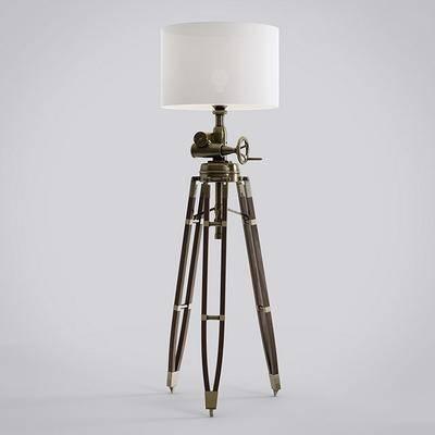 落地灯, 工业风落地灯, 现代落地灯, 灯泡, 艺术落地灯, 复古, 工业风