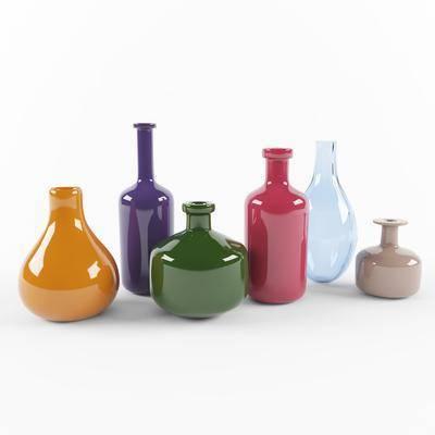 现代, 花瓶, 组合