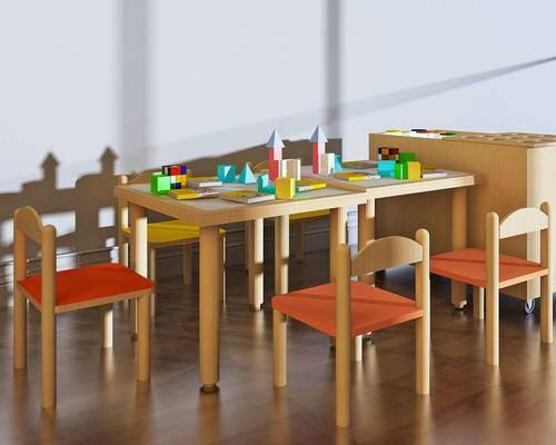 桌椅组合, 玩具
