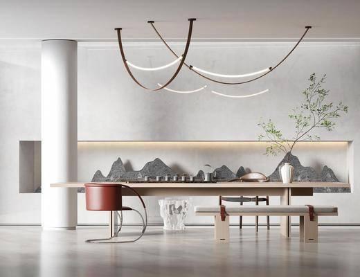 现代, 茶室