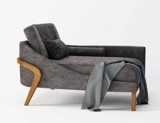 贵妃椅, 单人椅, 休闲沙发