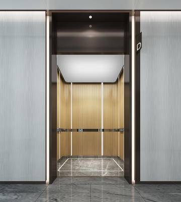 电梯厅, 轿厢