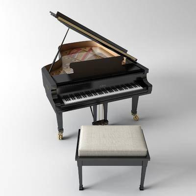 乐器, 钢琴