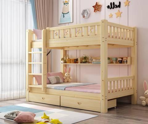 北歐, 兒童床, 組合