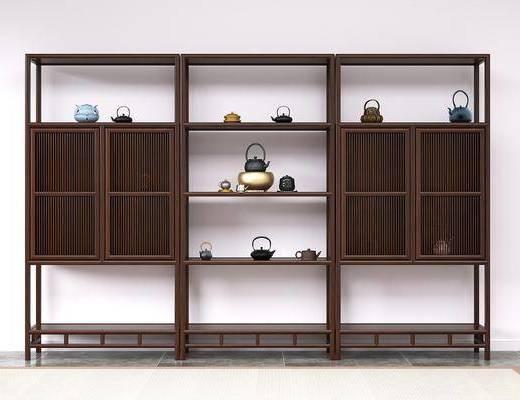 餐邊柜, 茶水柜, 裝飾架, 邊柜, 柜架組合