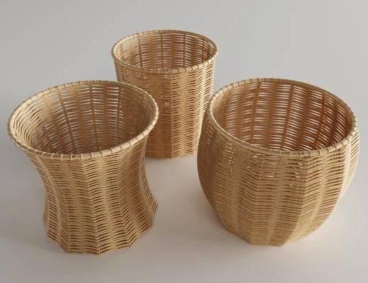 竹篮, 日用品
