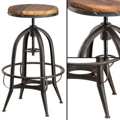 吧椅, 高脚凳, 工业风