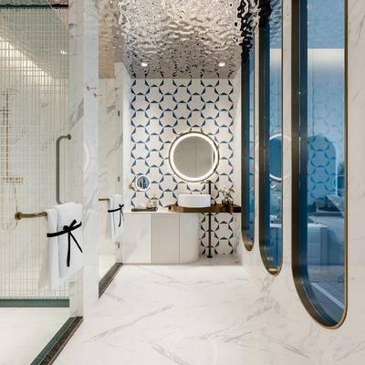 现代卫生间, 卫生间, 卫浴