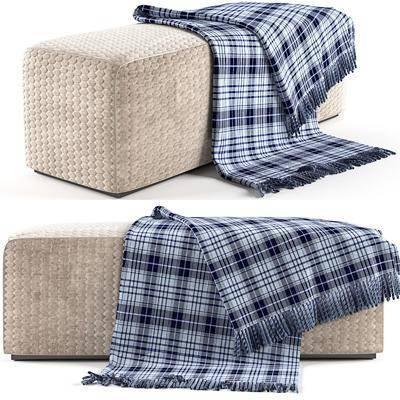 沙发脚踏, 现代沙发脚踏, 布艺沙发脚踏, 沙发凳, 毛垫, 现代