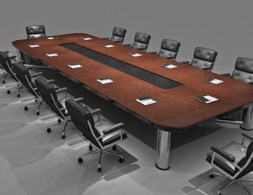 会议桌椅组合, 现代