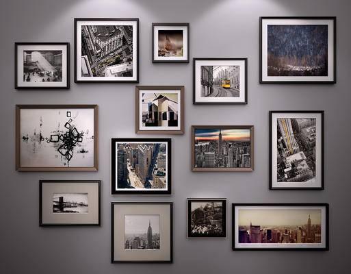 现代挂画, 北欧挂画, 现代装饰画, 北欧装饰画, 照片墙, 现代, 装饰画, 挂画