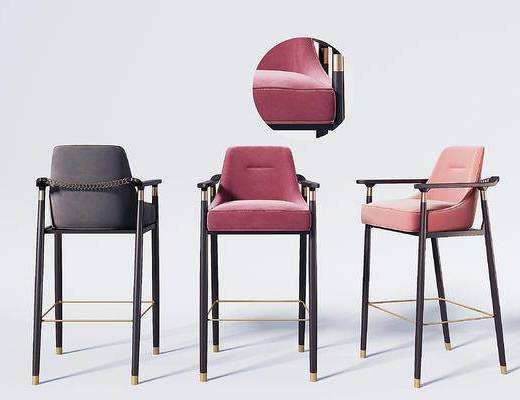 新中式吧椅吧凳