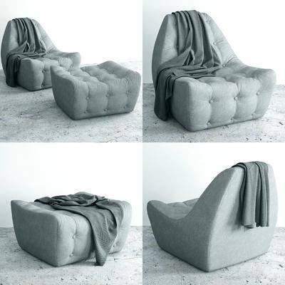单人沙发, 休闲沙发