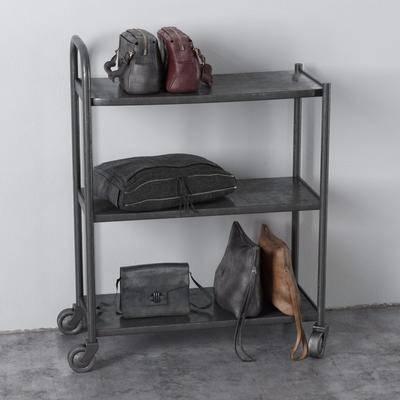 装饰架, 摆件组合, 包, 现代