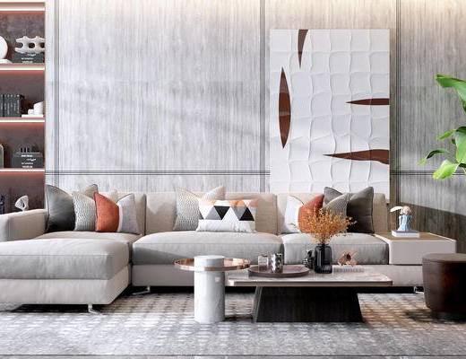 沙发茶几组合, 现代沙发组合, 沙发组合