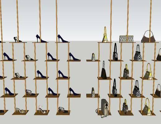 鞋柜, 柜架组合