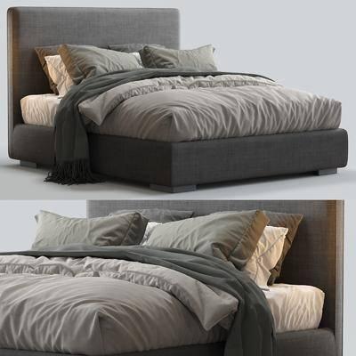 双人床, 床具组合