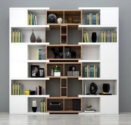 现代书柜, 整体书柜, 个性书柜, 书柜组合, 书架书柜