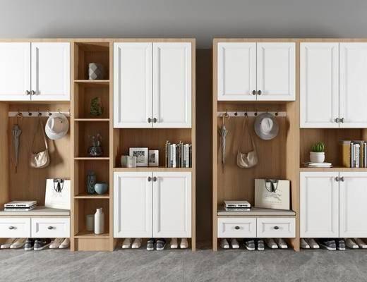 北欧鞋柜, 鞋柜, 多功能鞋柜, 置物柜