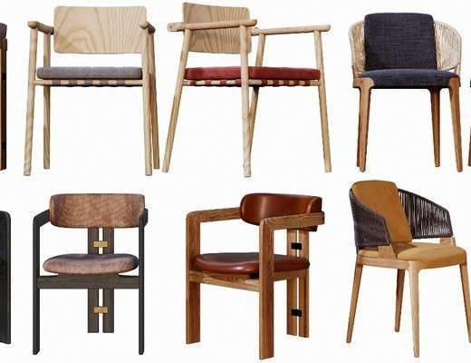 现代椅子, 单椅, 椅子, 休闲椅