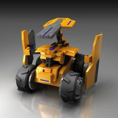 机器人, 变形机器人, 玩具