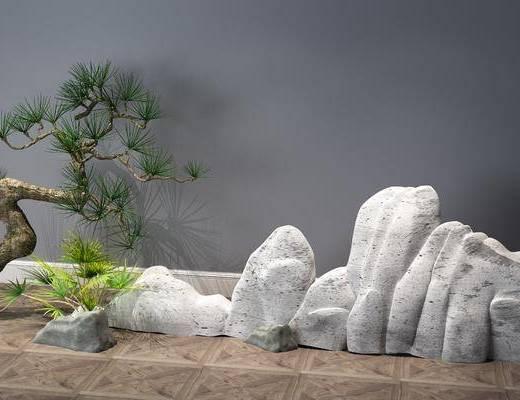景觀小品, 樹木, 植物
