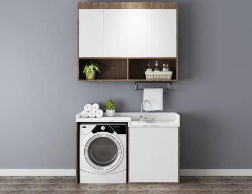 现代卫浴柜, 卫浴柜, 柜架组合