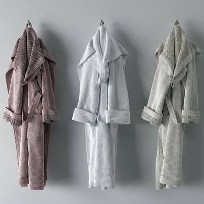 浴袍组合, 服饰, 现代
