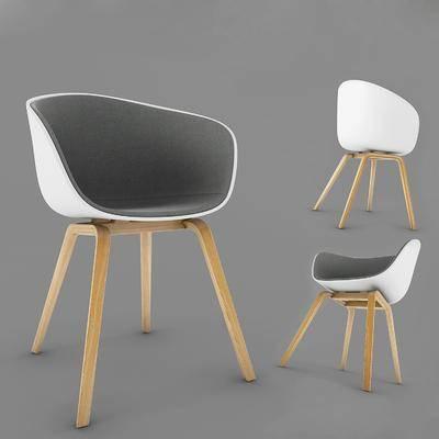 单人椅, 餐椅, 现代
