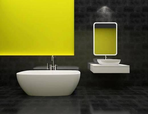 卫浴洁具, 卫浴组合, 现代