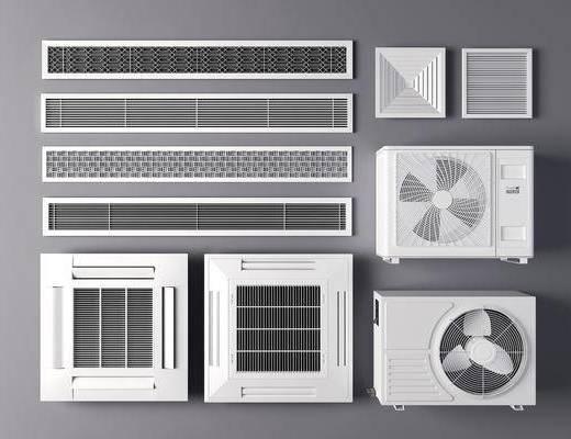 现代, 组合, 空调