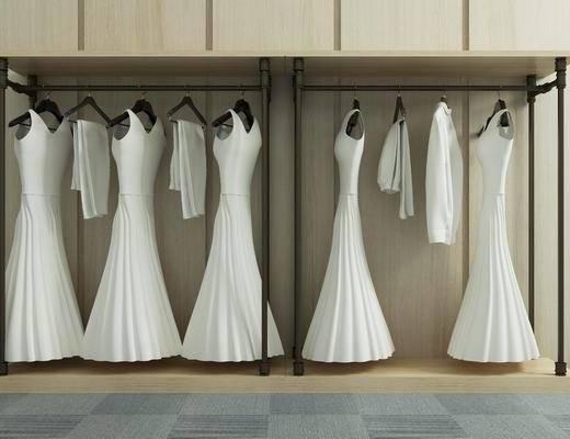 婚纱, 现代, 服饰