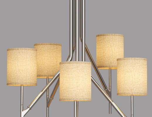 布艺, 吊灯, 灯具