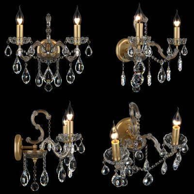 水晶, 壁灯, 水晶壁灯, 简欧
