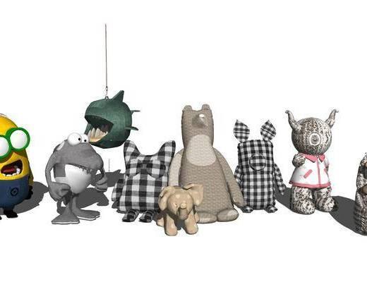 公仔, 玩具, 玩偶