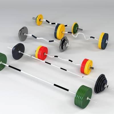 杠铃, 体育器材, 健身器材, 现代