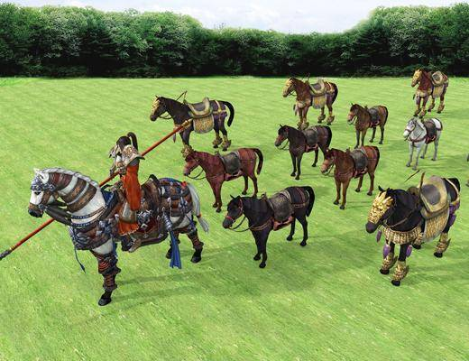 人物, 古代人物, 馬