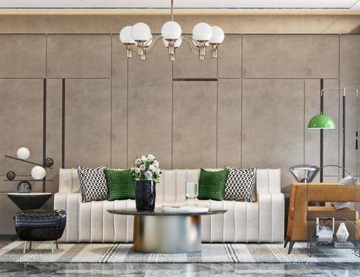 现代沙发茶几组合, 现代沙发组合, 沙发茶几组合