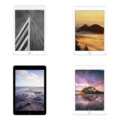 ipad, 平板, 现代平板, 现代, 数码